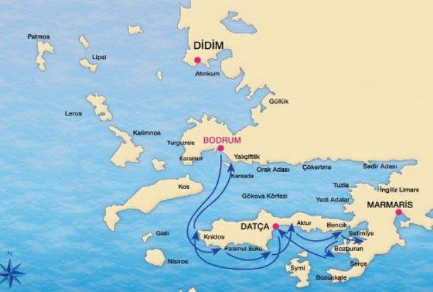 Bodrum – Gulf of Hisarönü – Bodrum Details
