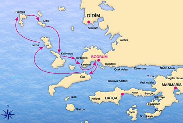 Bodrum – North Dodecanese – Bodrum Details